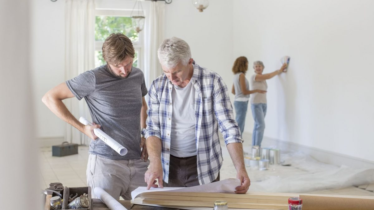 Family home renovation GettyImages 513438249 58a0e0803df78c4758055c1a 1200x675 - Ways to cut down renovation cost