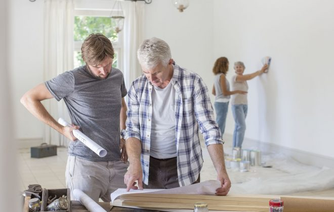 Family home renovation GettyImages 513438249 58a0e0803df78c4758055c1a 660x420 - Ways to cut down renovation cost